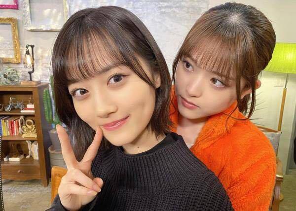 男性に質問: 左:乃木坂46・山下美月ちゃんを見つめている 右:女優・松村沙友理さんが可愛いと思いますか?