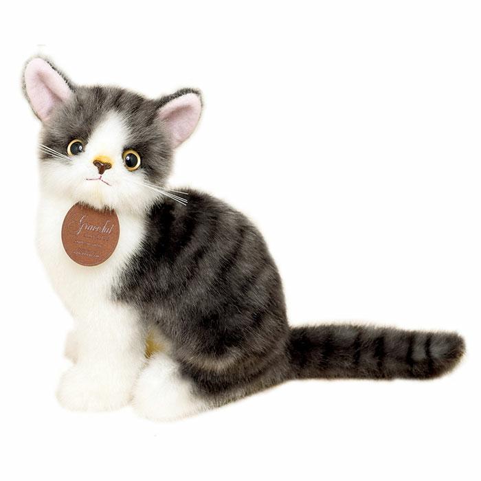 この猫のぬいぐるみを見て、どう思いますか