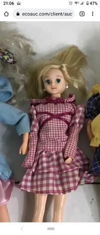リカちゃん バービー についての質問です。 この人形詳細が知りたいです。 年式 名前 歴史等 なるべく詳しく教えて下さい