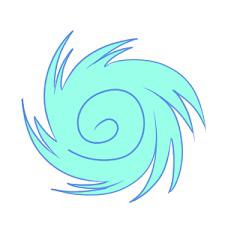 台風といったら何色のイメージを思い浮かびますか?