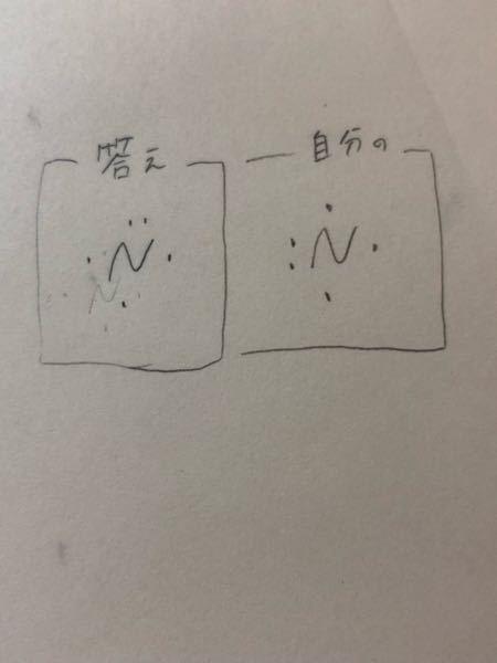 窒素の電子式で疑問に思ったことがあってなんで答えは上に点が2個あるんですか?また点はどこに付けるべきでしょうか?