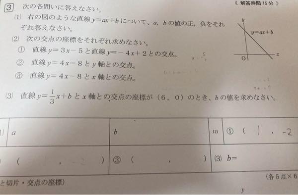 この問題の解き方と答えを教えていただきたいです。