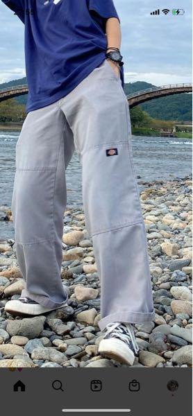 このズボンはDickiesのなんて言う商品名ですか?