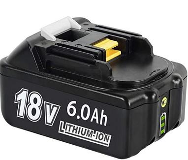 マキタ 18v バッテリー 互換 BL1860B ・・・・・・・・・・・ このバッテリーを使える電動工具を教えてください。 インパクトドライバーは持っているけど、その他の使える道具を知りたいです。