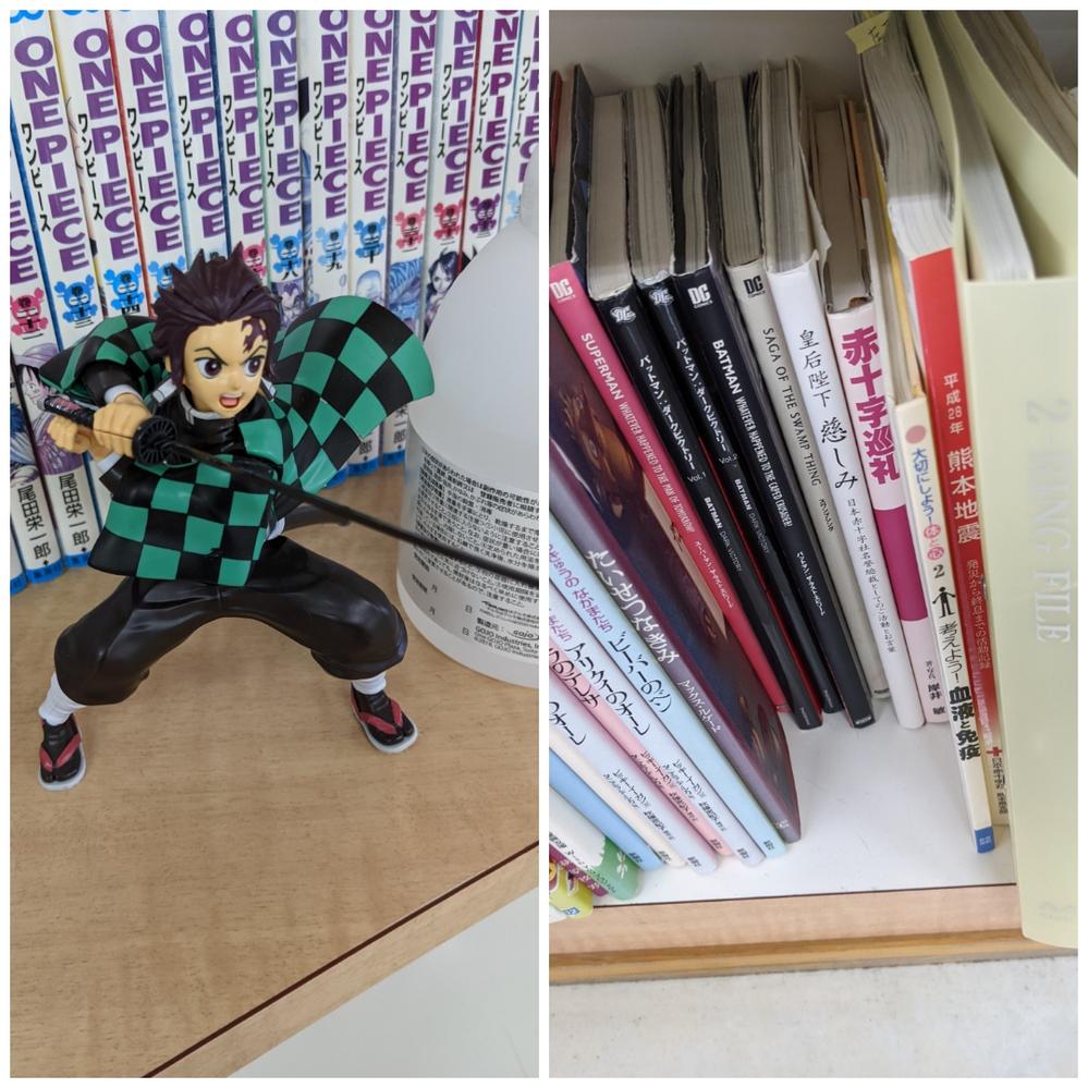 あなたのライフワーク(生き甲斐)はなんですか?僕のライフワーク(生き甲斐)は漫画ミュージアムや図書館に本を寄贈して、インターネットで自慢することです。近鉄奈良駅の献血ルームに置いてある「鬼滅の刃」の竈 門炭治郎のプラモデルは俺が作って置いたものだ!さらに漫画コーナーに置いてある日本語版アメコミ「スワンプシング」「バットマンラストエピソード」「スーパーマンラストエピソード」「バットマンダークビクトリーVol.1」「バットマンダークビクトリーVol.2」は俺が寄贈したものだ!!証拠画像ものせます。俺って凄いだろう?あなたのライフワーク(生き甲斐)はなんですか?