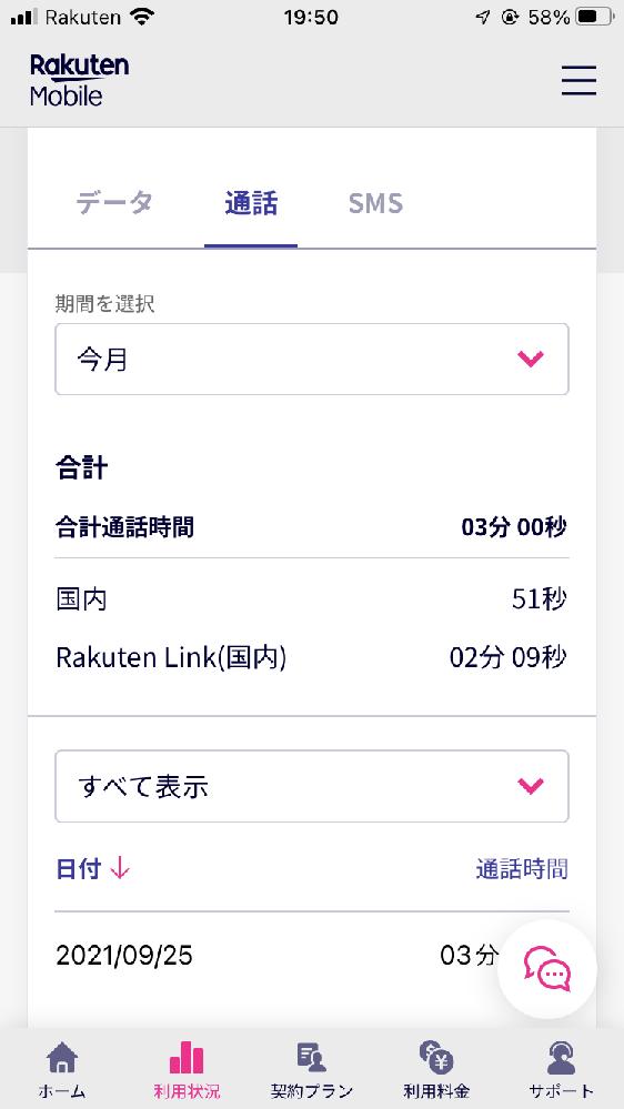 Rakuten Link利用状況確認画面に表示される「国内通話」と、「Rakuten Link(国内)」の違いがわかる方いらっしゃったら教えてください。