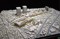 この模型が、どこの土地の模型か切実に知りたいです。 都市開発計画の模型で埼玉県西部地域ということですが、似たような場所が見つけられず… お分かりの方がいましたらご教授くださいませ。