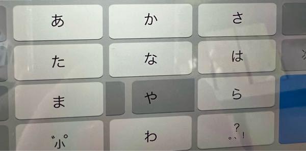 iPad miniでキーボード Simejiを使ってます。 このようになってしまうのですが これが標準ですか??
