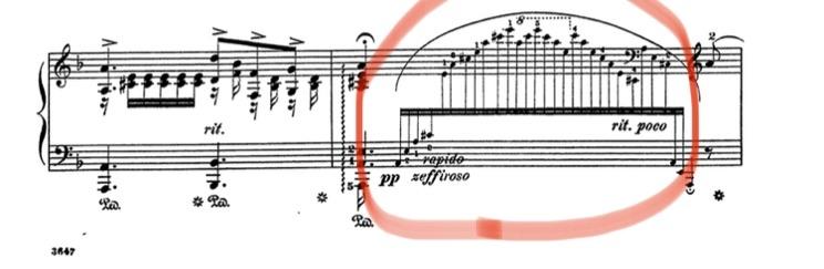 ランゲ作の花の歌をピアノ演奏する時に、画像の赤丸の部分が上手く弾けません。 早く弾こうとすると、指が転んでしまいます。 早く綺麗に弾ける様にする練習方法や楽譜が有れば、是非教えて頂きたいです。 ...