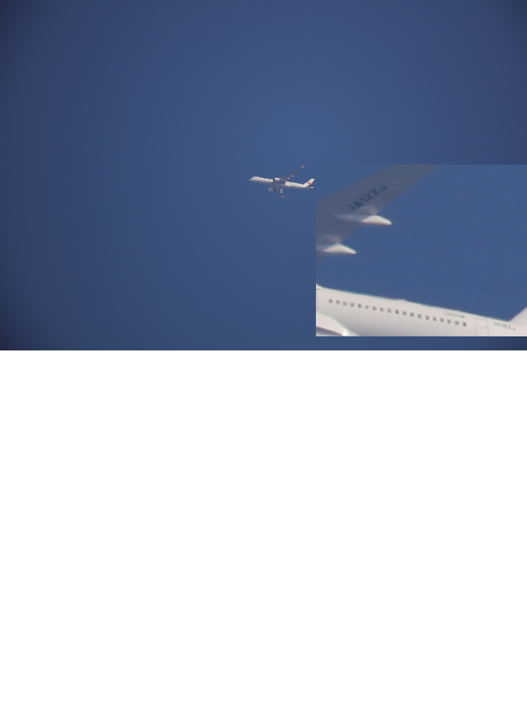 EOS R3の解像度について 遠くの飛行機やヘリコプターを超望遠レンズでムリヤリ撮って機番が読...
