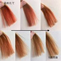 髪色をミルクティベージュにしたいのですが、現在ピンクの色落ちでオレンジっぽい茶色です。ブリーチしないと染まらないですよね? この画像の下の左2枚ぐらいの色です!