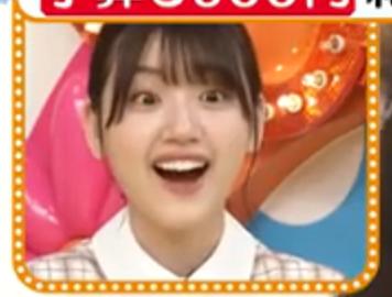 みーぱんクイズPart24 画像は、日向坂46のみーぱんこと佐々木美玲ですが なにやら驚いたような、楽しいような顔をしています さて、みーぱんは何を見ているのでしょうか? 正解者には500枚(゜∀゜)