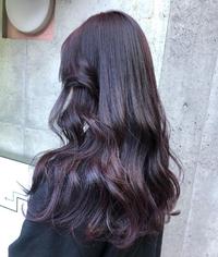 この紫色の髪は派手髪ですか 今この色より少し黒っぽい感じです