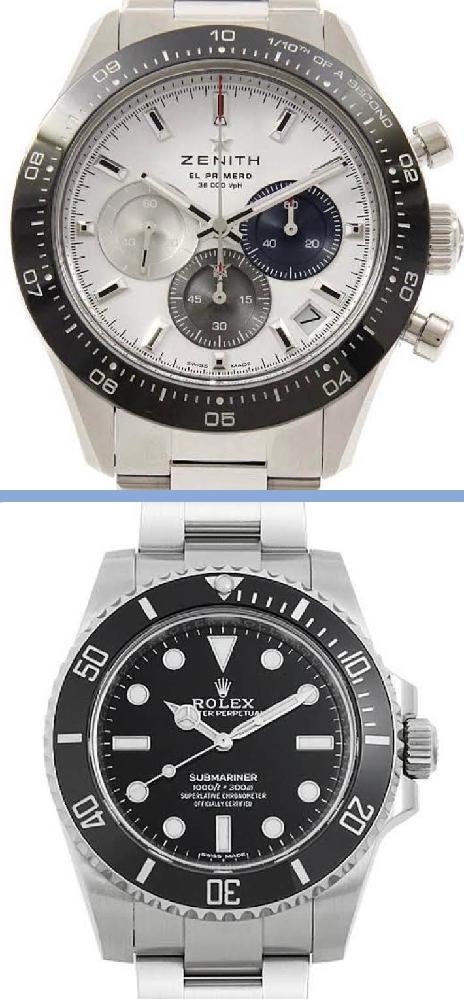 皆さんはどちらの時計の見た目が好みですか?