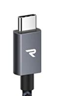 USB - C のライトニングケーブルで3mのを探しています。添付画像のようなコネクタの形だとありがたいです。