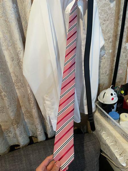 明日公務員試験の面接なんですが、このネクタイ大丈夫ですか?