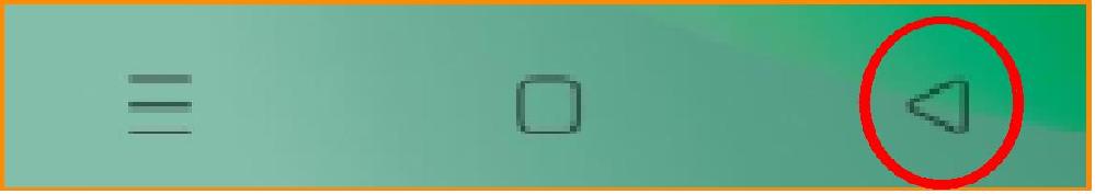 アンドロイドスマホOPPOA54 ホーム下部、右端の戻る(終了?)ボタンの 逆、、戻って、また戻る前に戻る、、 つまり、「進む」ボタンはありませんか?