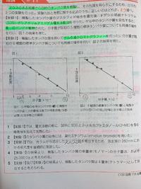 薬剤師国家試験 (100回 問115)  選択肢4について質問させていただきたいです。問題文中のグラフ横軸の分子量の単位が10^-4であるのにどうして25000Daとわかるのでしょうか? 分子量が約2.5•10^-4のタンパク質のサイズは2.5•10^-4 Daと表せるのではないかと疑問に思いました。  よろしくお願いいたします。