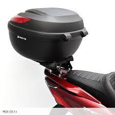 なんでおっさんはバイクのリアシートにリアボックスをつけるのでしょうか?原付のシングルシートなら車みたいに背もたれになるからでしょうか?