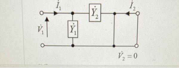 この回路でのI1、I2の値を教えてください。