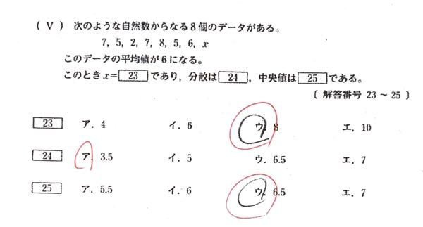 数Aのデータの範囲です。よろしくお願いします。 分散の求め方がわかりません。解説をよろしくお願いします!
