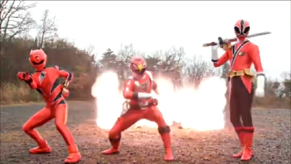 炎神戦隊ゴーオンジャーのシーンについてです。これは何のシーンですか?映画の予告シーンだと思うんですけど。