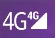 スマホ画面右上にて、4Gの隣に三角マークの場合と、4Gの隣の三角マークの上に小さい4Gマークがある時があります(画像参照)。違いは何でしょうか? 後者の場合ネットが繋がりません。