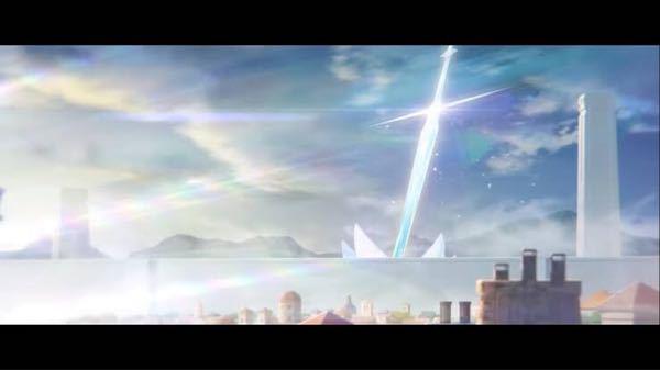 マイクラで下記のような建築がしたいです。 地面に刺さった(斜めに)巨大な聖剣みたいな ファンタジー感ある どんな作り方すればいいでしょうか?