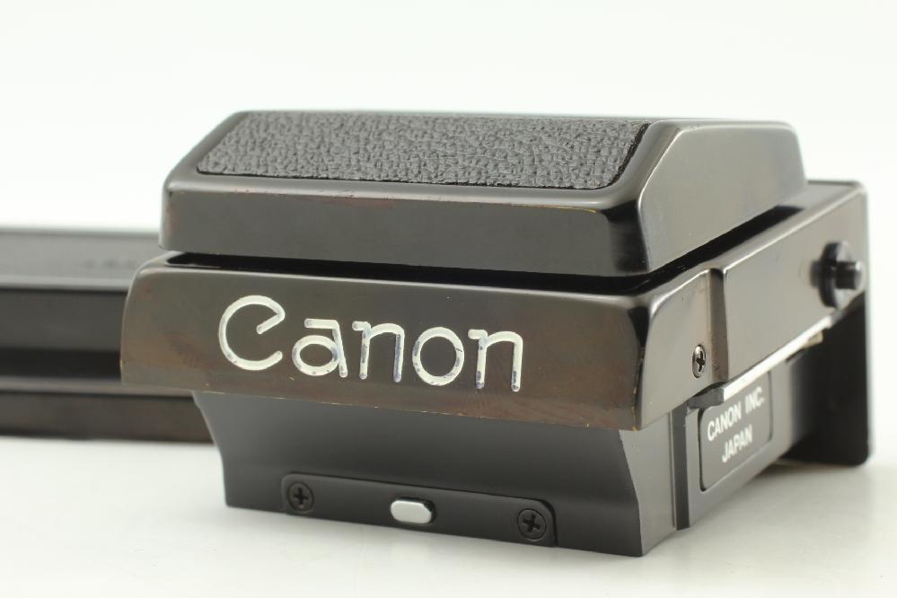 Canon F-1用のウエストレベルファインダーを購入したのですが、旧f-1用か新f-1用かの見分け方が分かりません。 調べても出てこず、、、 どなたか教えて頂けるとありがたいです。