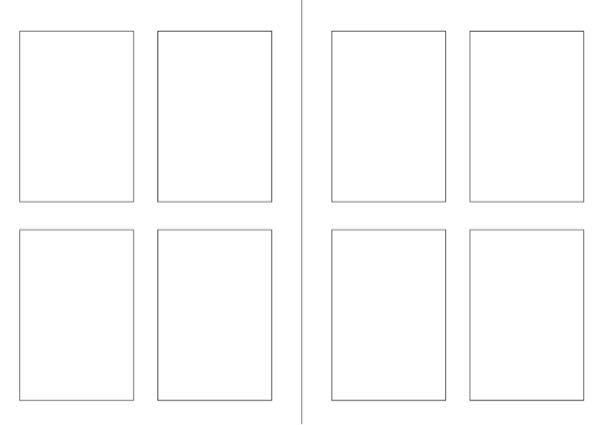 デジタルのイラストについて質問です。 最近プロクリエイトでイラストを書き始めてとても初歩的な質問ですが、漫画とかデジタルイラストについてあまり知らなくて疑問があります。 この画像のようなネームというものが下書きとかの意味があるということは分かるのですが、一つのキャンバスでこのフレームを使って描いたらとても小さい絵になってしまうと思うのですがどう使うのですか?プロクリエイトで全部漫画を描こうと思った時に使えるようなものなのですが?よくTwitterなどのSNSで上がっているような漫画は一枚一枚、ちゃんと分かれて描かれていてこのネームのように小さくありません。一つだけのフレームなら理解できるのですが、二つや四つなどのフレームの使われ方を教えてください。また、プロクリエイトで複数ページある漫画を管理する場合の機能としてスタックがあると思うのですが、長い漫画だとキャンバスの量が多くて重くなったりしませんか?プロクリエイトで漫画やイラストなどを描いている人が居れば教えて下さい。見づらい文章ですみません。回答よろしくお願いします。