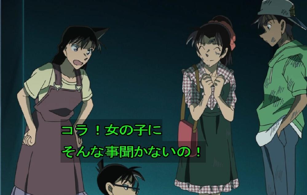【大喜利】 蘭「女の子にそんな事聞かないの!」 コナンは何を聞いたのかな!?