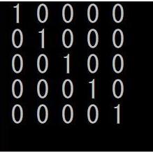 このプログラムの作り方を教えてください! 多次元配列とfor文のネストを使って作りたいです!