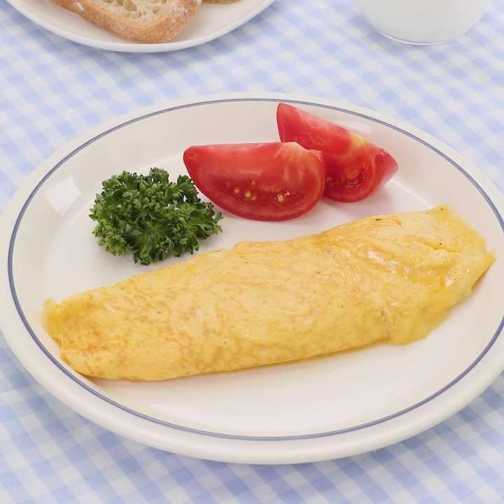 オムレツには何かけて食べたい? (^。^)♪