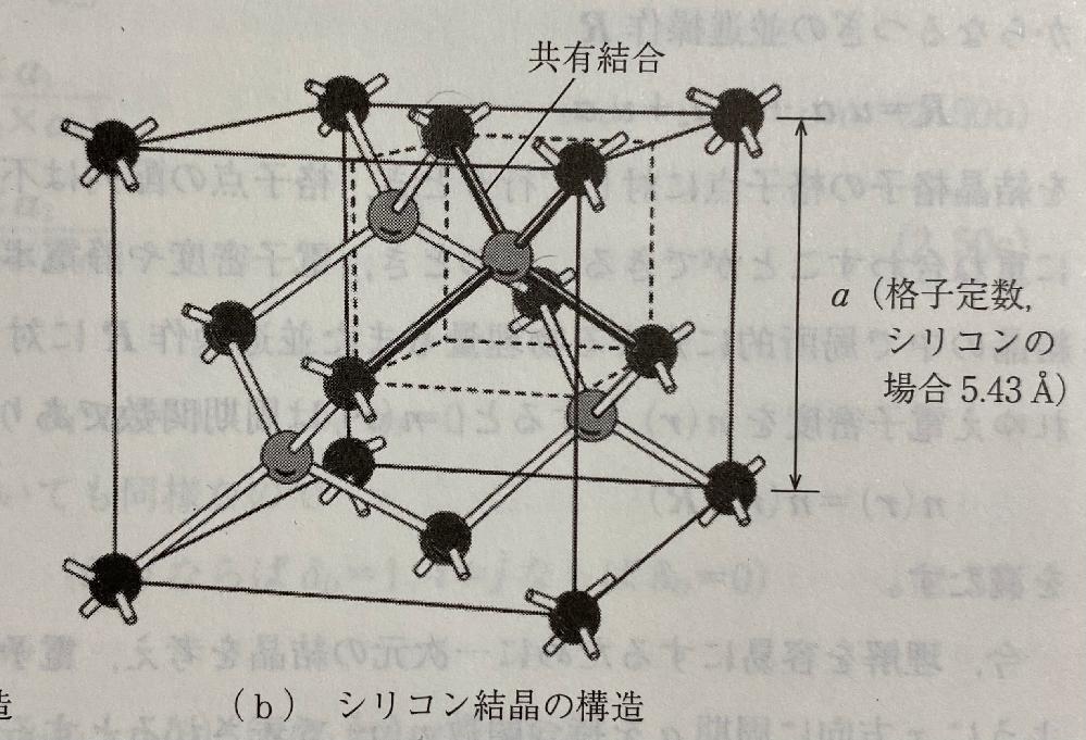 この単位胞において4つの原子を頂点にとる正四面体が4つあることは分かるのですが、「この図の単位胞は8つの原子を含んでいる」とはこの図のどの原子のことですか? 上手く伝えられなくてすみません。