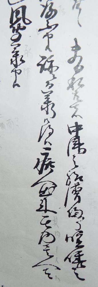 古文書の質問です 1行目の9字目の漢字は何でしょうか 様?処? 意味的には中津の方へのようですが