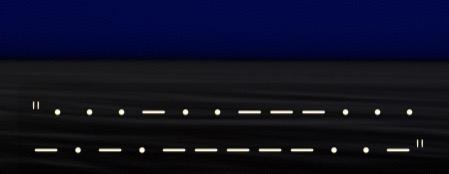 モールス信号解読できる方いますか……? なんかゲームの友達がメッセージをモールス信号でつぶやいてて内容が気になってしまったので…… 「・・・-・・ ---・・・-・-・-----・・-」 (一応下に画像も載せておきます)