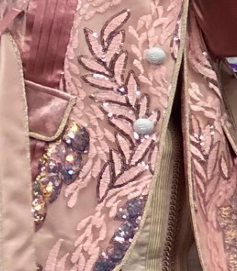 この葉っぱのような刺繍の模様の名前を教えてください!