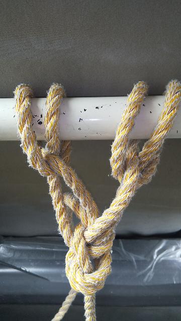 ロープワーク何すけど、この写真の結び方、分かる人いませんか?