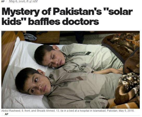 パキスタンで昼は普通に動けるが夜になると全く動けなくなる兄弟がいると報じられた当てはまる病気はなく原因も不明。昨日、何だコレ!? ミステリー2時間SPにて放送していた話ですが、結局あの兄弟の病気...