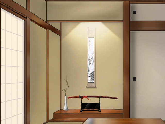 日本家屋の設備で 掛け軸とか刀とか置く 一段高い部分って 正式名称あるのでしょうか? 手続きで簡易な平面図を書く機会があり ここってなんて記載すればいいのかな? と思って悩んでいるのですが