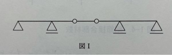 建築(構造力学)について、質問です。 写真の構造物について、不静定次数を求めなさいという問題です。 解答書によると、 N(不静定次数) =(剛接合部材数)+(部材数)+(支点での反力数)−2×...