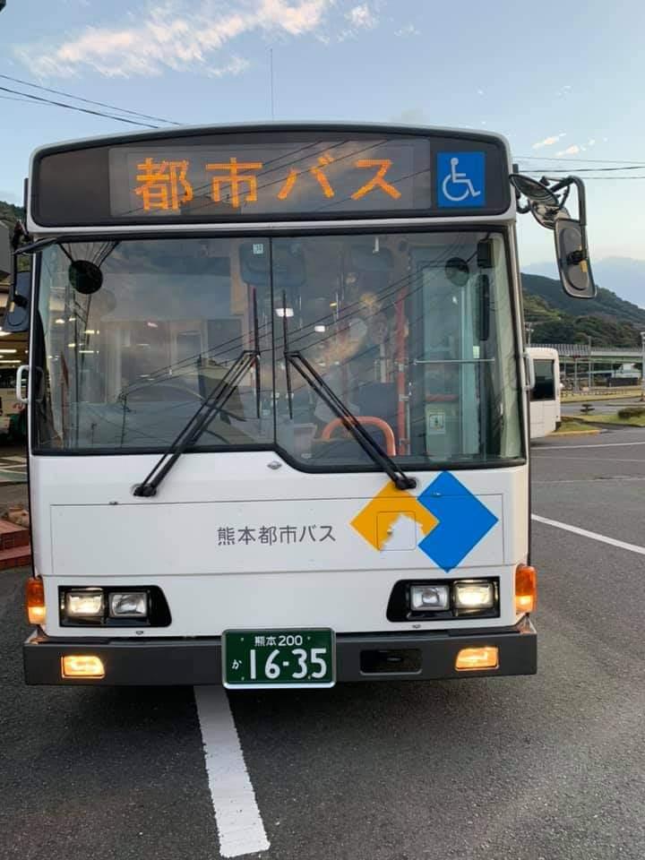 熊本都市バスは中古のバスでしょうか?多分ですが、首都圏の中古バスなのでしょうか?