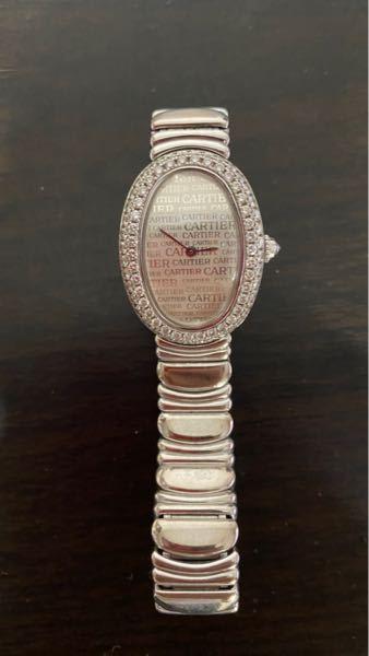 このカルティエの腕時計の名前を教えてください また価値はどれほどになりますか? 祖母が数十年前に百貨店で購入した物です
