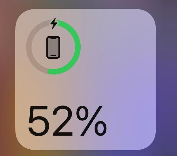 少し前からiPhoneの画像の部分でApple watchの残りのバッテリーが表示されなくなりました。どうすれば表示できますか?