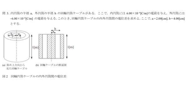 電磁気学でこの写真の問題の解き方と答えを教えて欲しいです