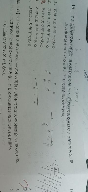 No.7のやり方を教えてほしいです!お願いします