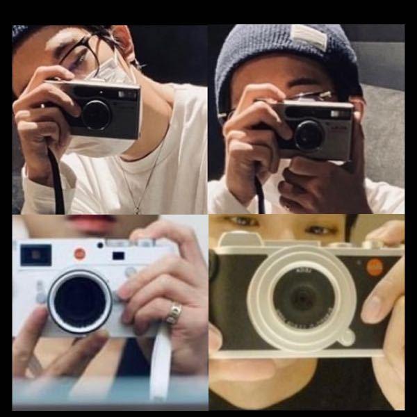 カメラの名前を教えてください! 上2枚は同じです