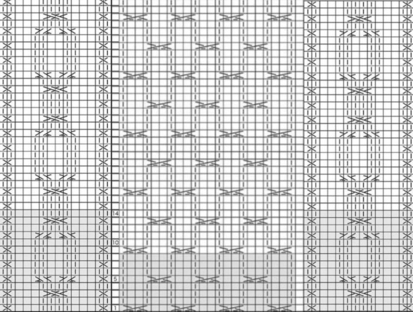質問失礼致します。 初心者ですが彼氏にマフラーを作りたくて編み物に挑戦しようと考えております。 こちらの編み図を極太の毛糸で編むとしたら大体どれほどの横幅になるでしょうか。 またマフラーを作りたいので、太すぎる場合は中央の模様を何本かなくし作ろうと考えております。 その場合どれほど無くせば良いか分かる方おられましたらご回答宜しくお願い致します。