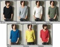 ユニクロに無地の7分袖Tシャツは売ってますか? 売っている場合は値段はどれくらいしますか?