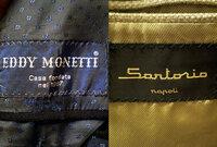 ブランド(メーカー)に詳しい方にお聞きします。 写真にあるタグのついたコートとジャケットを頂きましたが、これはどんなブランドなのでしょうか?イタリア製と書かれていて、着心地は良いと思います。有名なも...